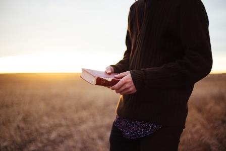 bible in field compressed