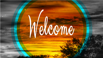 Welcome Backgrounds For Church